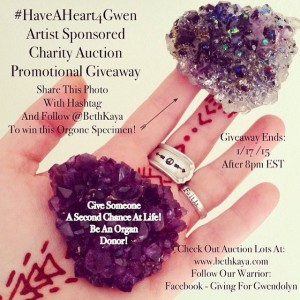 A little reminder about this #Giveaway I'm running for the #HaveAHeart4Gwen charity auction series. The last lot of the series will launch next week heck or high water (was waiting on last minute things to get here!) ️Share