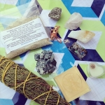 ✨Goood Souper Saturday Morning to you live from vendor row at Soupergroove Music Festival! Today's regular auction was assembled on site with loving Souper intentions 😘 Go Be Great! ❤️ Bundle Includes: 🌌1 juniper large #Smudge bundle 🌌1 blue zeolite specimen 🌌1 Bee Surfside Double Layer Soap 🌌 1 copper pendulum 🌌 1 pyrite chunk large 🌌1 rose quartz chunk large 🌌1 citribe point large 🌌1 #faithfulgrace crystal infused perfume solid 🌌1 #orgonite rectangle 🌌 1 special edition 3oz souper sacred sugar and salt (lime and coconut) hops and hemp scrub  This bundle is jam packed and retails for $120! 🌟Bidding opens at $19 and goes in whole dollar increments 🌊 Winner pays $6 s/h usa and rated by zip code for international winners. 🌅To Bid🌅 Comment With Your Bid  Tag who you are outbidding  Good Luck!!! Hope you have a souper saturday!!!! 🔮💋❤️