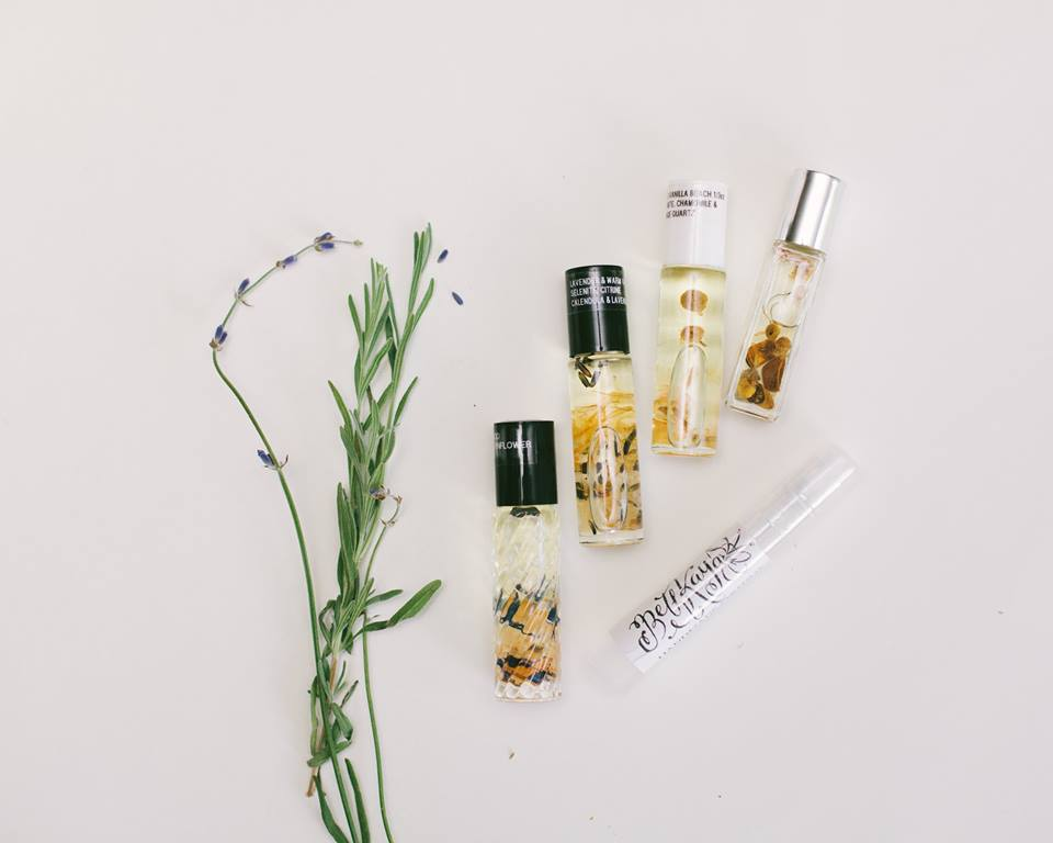 Sprays and Signature Oil - Photo By Rommy Coleman Photography
