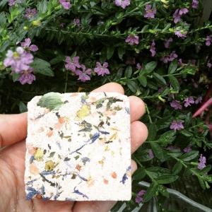 ✨hops, clove, pink clay, wintermint & lavender ✨ #crystalinfused #bathbomb #bybethkaya ?
