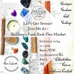#jerseyshore locals! Please come to this incredible event Saturday! My last big show of 2015 and lots of fun vendors and things to see! I hope you'll come!! #punkrockfleamarket #skullboy #newjersey #artist