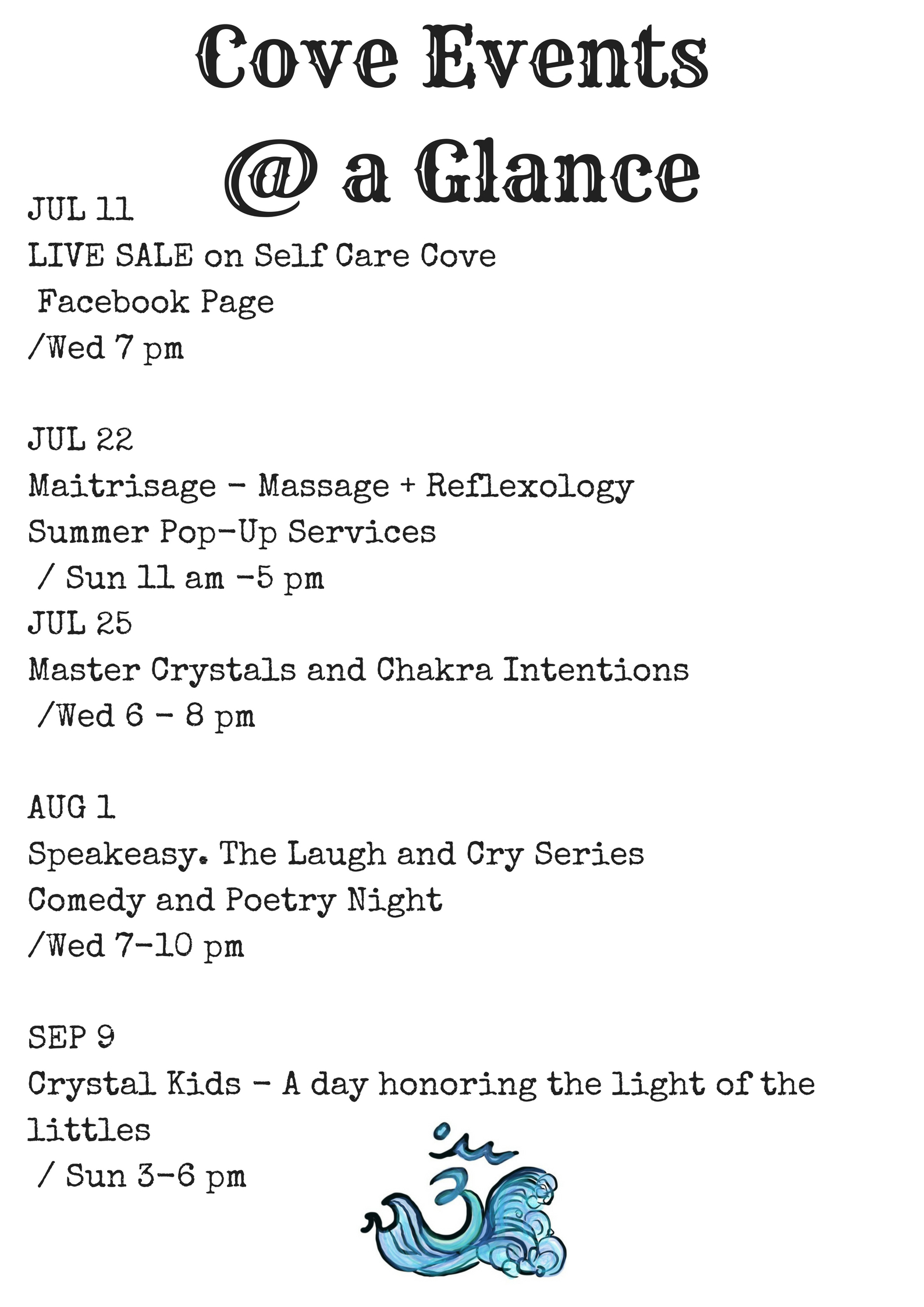 at a glance july
