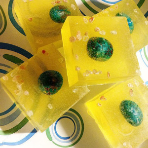 Limited Edition ASCEND Soap wth Chrysacolla